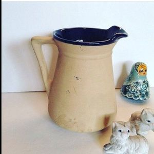 The Great American Stoneware Factory PITCHER